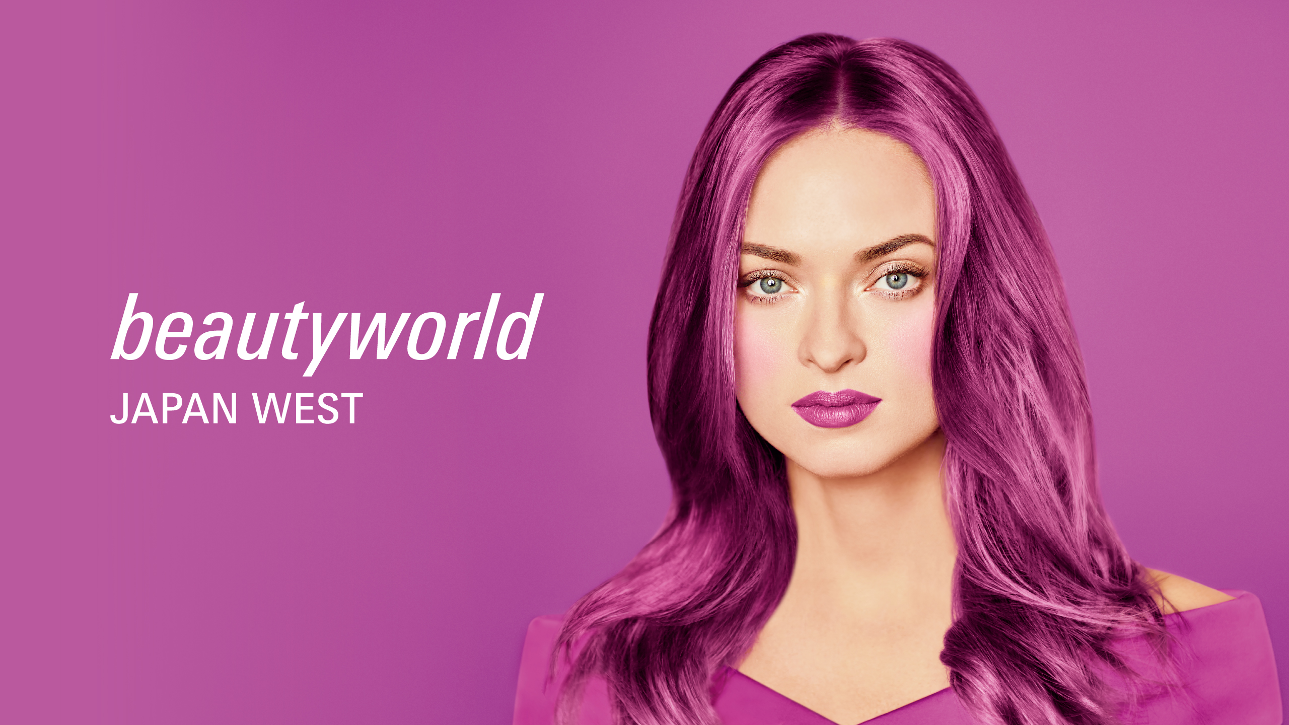 Beautyworld Japan West Keyvisual 2021